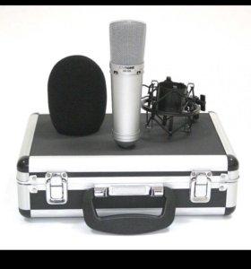 микрофон студийный invotone SM150B