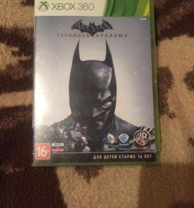 Игра BATMAN Летопись Аркхема на Xbox360