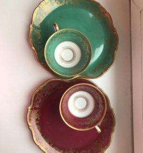 Набор для чая Weimar.Фарфор. Оригинал. Германия.