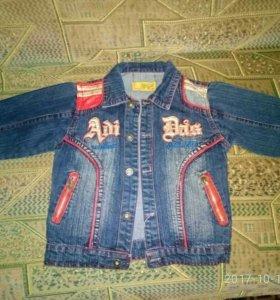 Джинсовые куртки 3шт. 2-3 года