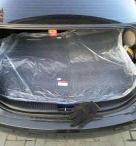 Коврик багажника рио