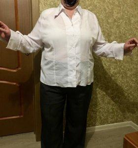 Белая рубашка,блузка