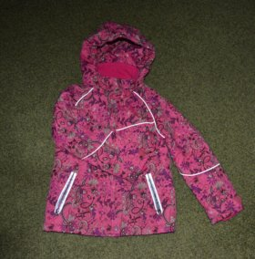 Куртка на девочку от 4 до 6 лет