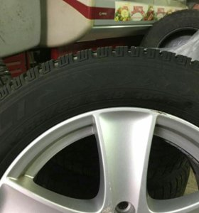 Зимние диски и шины