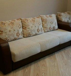 Диван-кровать с креслом