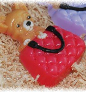 Мыло Чихуахуа в сумке