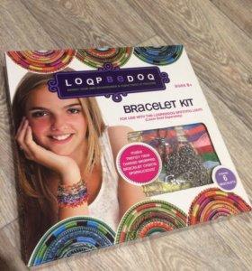 Набор для творчества: плетение браслетов