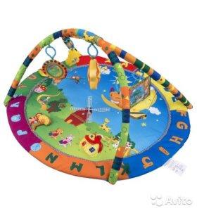 Игровой коврик летняя полянка