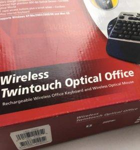 Клавиатура Genius Wireless Twintouch OpticalOffice