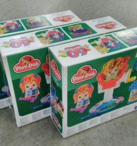 Play Doh сумашедшие причёски(пластилин)