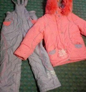 Торг!!!Зимний костюм на девочку