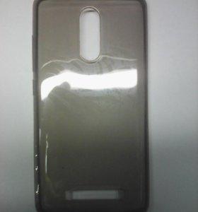 Чехол-силикон 0.3mm Xiaomi Redmi note 3 черный