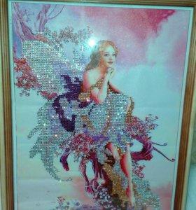 Картина в рамке Fairy Butterfly