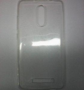 Чехол-силикон 0.3mm Xiaomi Redmi note 3 белый