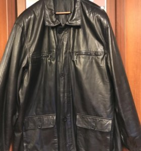 Кожаная мужская куртка Grand LA VITA 58-60 размер