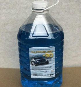 Зимняя стеклоомывающая жидкость - 25