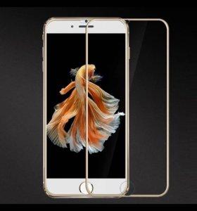 Защитные 3D стекла для iPhone 6/6s