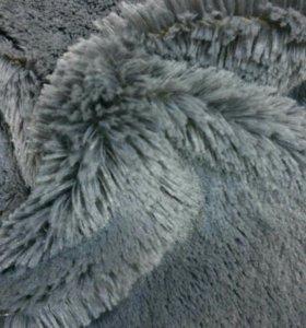 Искусственный мех серый 25мм