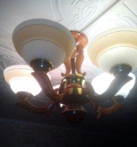 Люстра 5 ламп