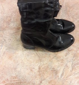 зимняя обувь состояние отличное