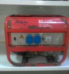 Бензиновый генератор fubag BS 1100 1.1 кВт (К89)