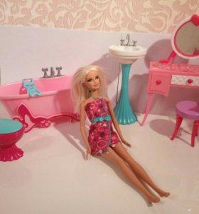 Мебель для Барби и кукла.