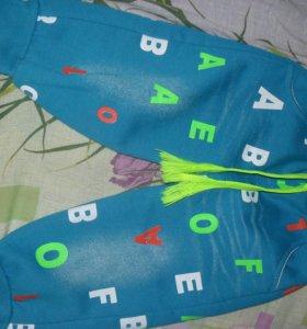 Штанишки на флисе для девочки