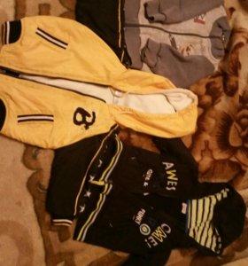Пакет вещей на мальчика 1-1,5 года