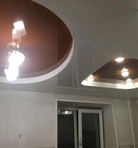 Натяжные потолки любой сложности