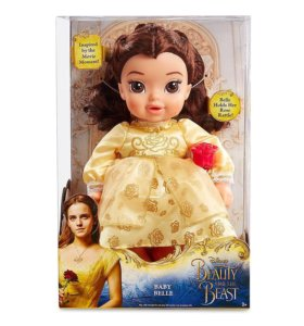 Belle baby doll, Disney store