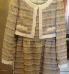 Платье с жакетом, размер S