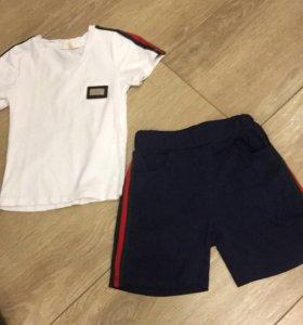 Шорты футболка Gucci