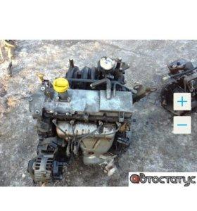 Двигатель Рено Логан renault logan K7JA710 1,4