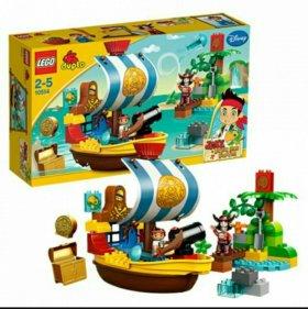 Lego Duplo Пиратский корабль 10514