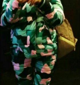 Модный костюм на синтепоне