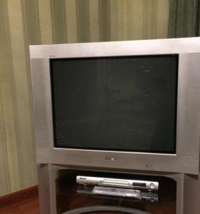 Телевизор Sony c оригинальной тумбой