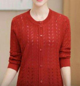 Кардиган  свитер р 46-50