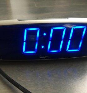 Клевые часы) ночник