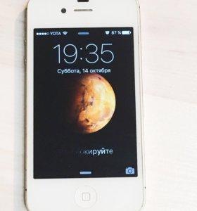 iPhone 4s на 32гб