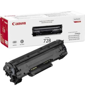 Пустые картриджи Canon 728 (оригинал)