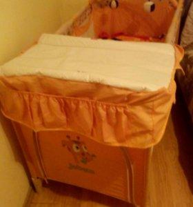 Кроватка монеж