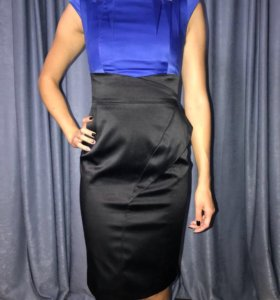 Karen Millen платье (оригинал) атласное