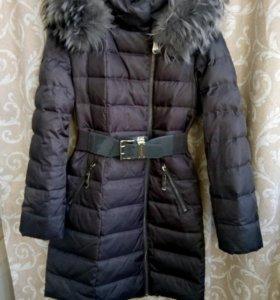 Зимний пуховик пальто на 44-46рр