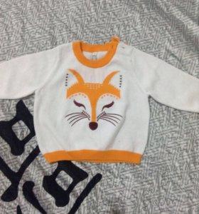 Новый свитер 68 размер