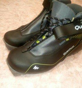 Лыжные ботинки 43