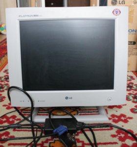 Монитор LG flatron 575LE для системного блока