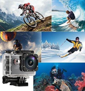 Экшн-камера 2017 года: Sports Cam full HD+ПОДАРОК!