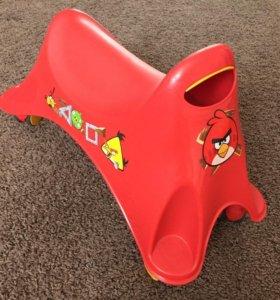 Каталка толокар ToyMonster Angry Birds