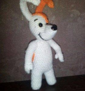Вязаные игрушки. Пёс Рекс