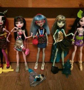 Коллекционные куклы Монстер Хай